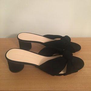 Loeffler Randall Celeste Knot Slide - Black Size 9